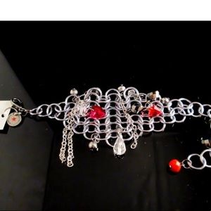 RLDesigns Jewelry - FLASH SALE⭐️chainmail Swarovski cuff bracelet